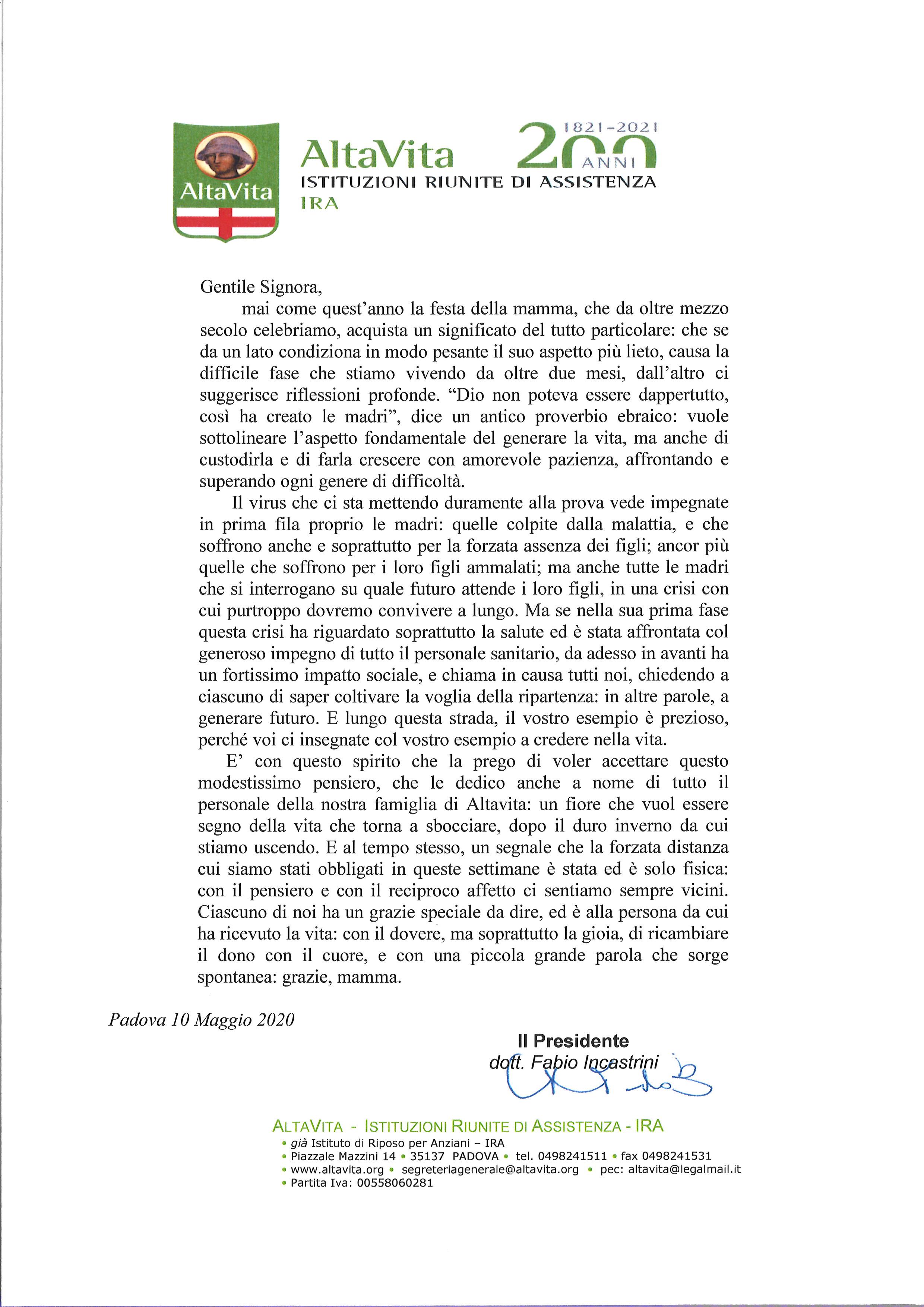 Casa Della Carta Padova altavita-ira